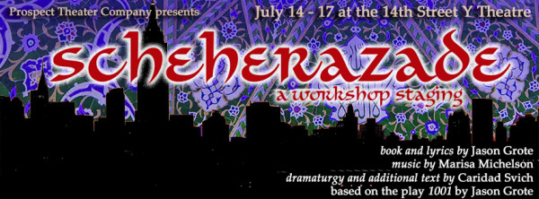 "Tickets available for ""Scheherazade"" workshop"