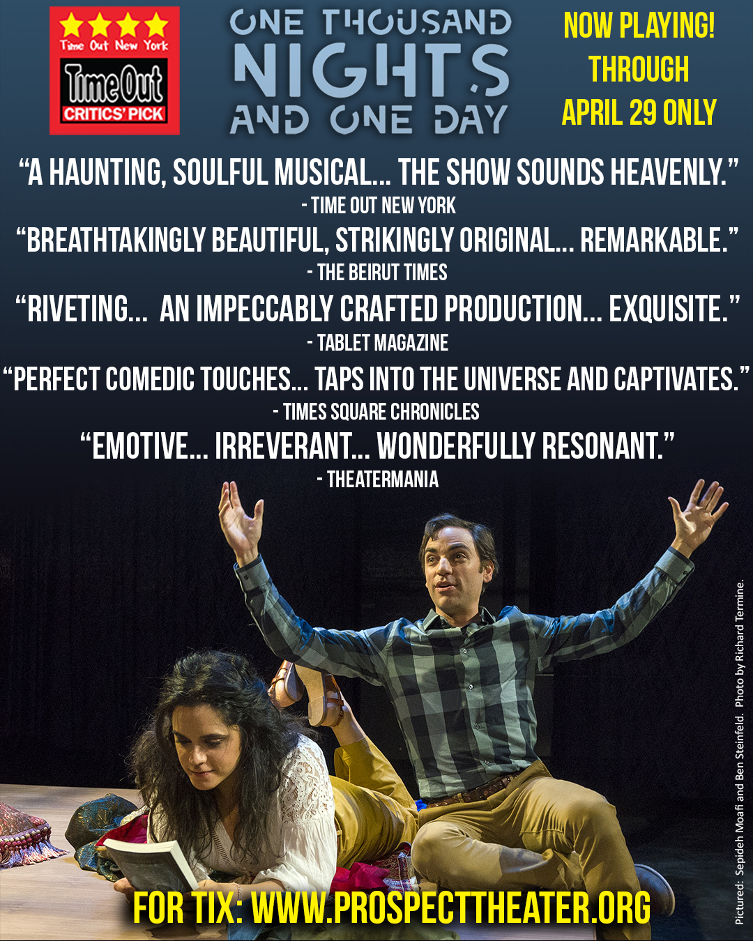 One Thousand Nights and One Day is a critics pick ~